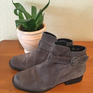 BORN suede boots